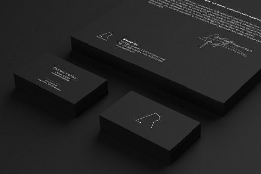 Business Card Design Brand Visual System